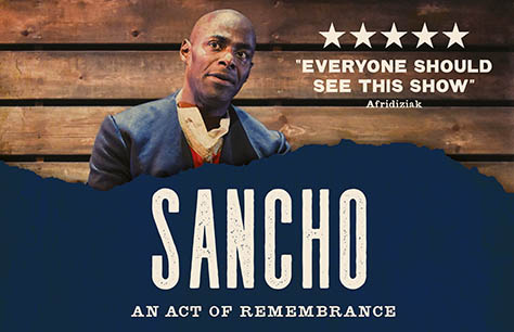 Sancho: An Act of Remembrance at Wilton's Music Hall, London