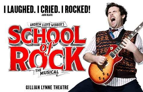 School of Rock and Dinner at Fire & Stone - Covent Garden