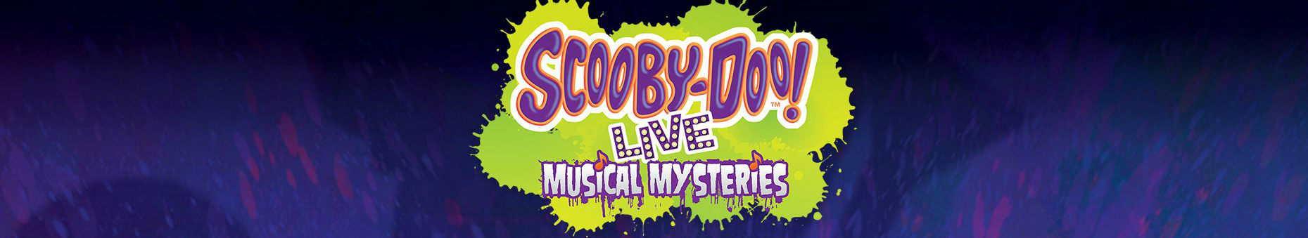 Scooby Doo Live - Musical Mysteries banner image