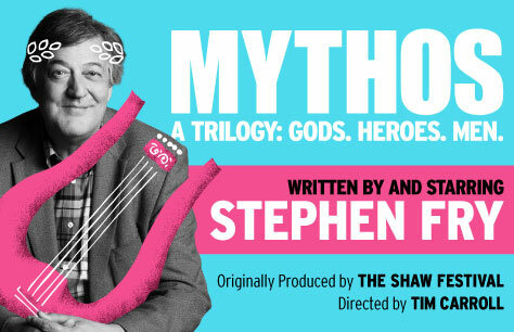 Stephen Fry Mythos a Trilogy: Gods