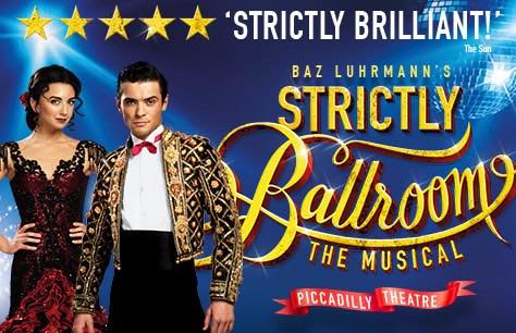 Strictly Ballroom The Musical & Dinner at Planet Hollywood