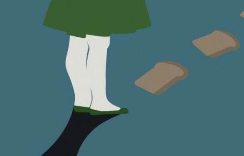 The Girl Who Trod on the Loaf at the Arts Theatre
