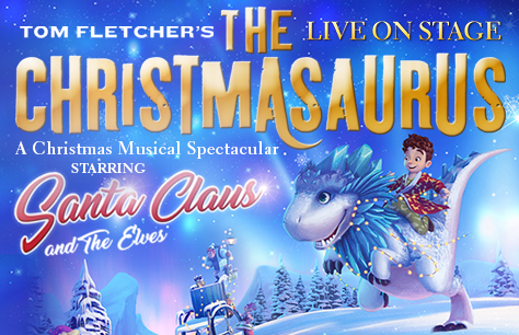 The Christmasaurus Live On Stage at Eventim Apollo, London