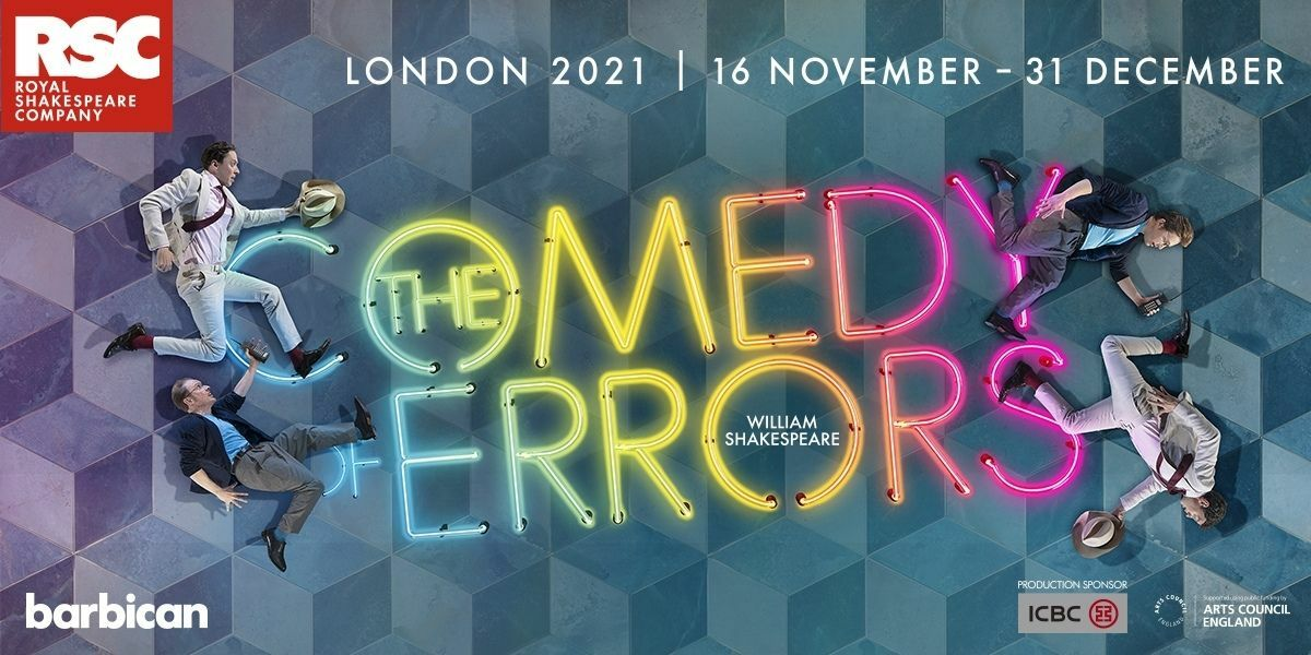The Comedy of Errors banner image