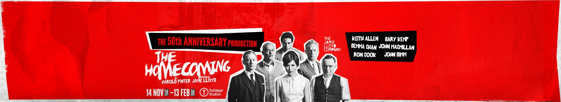 The Homecoming tickets London Harold Pinter Theatre