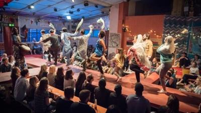 The Jungle at Playhouse Theatre,London