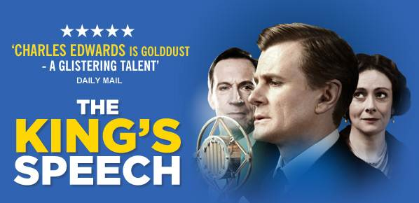 The King's Speech at the Wyndhams Theatre London