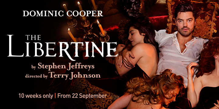 The Libertine tickets London Dominic Cooper