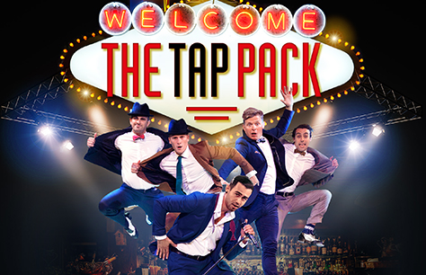 The Tap Pack at Peacock Theatre, London