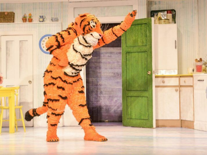 Tiger Who Came To Tea - Gallery