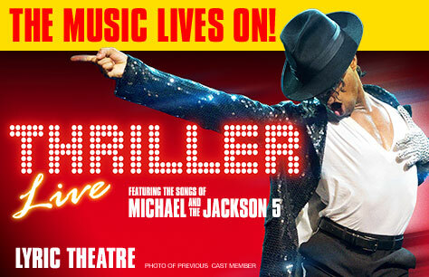 Thriller Live<br>• Was £77.50 Now £52 Saving £25