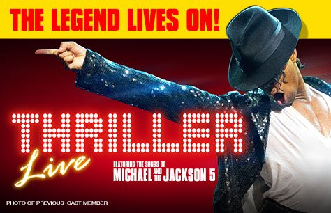 Thriller Live & Dinner at Bella Italia - Shaftesbury Avenue