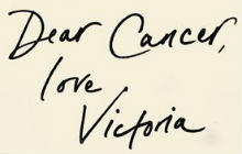 Victoria Derbyshire - 'Dear Cancer, Love Victoria'