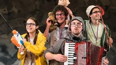 We're Going on a Bear Hunt at Lyric Theatre,London