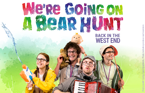 We're Going on a Bear Hunt at Lyric Theatre, London