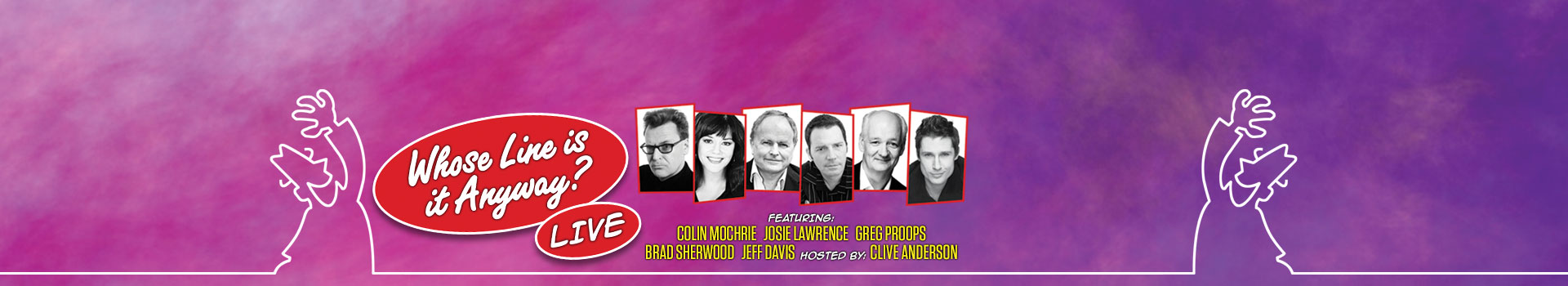 Whose Line Is It Anyway? Live banner image
