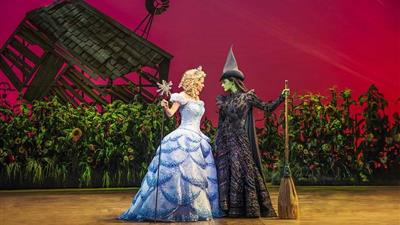 Wicked at the Apollo Victoria Theatre & Dinner at Jamie's Italian - Victoria at Apollo Victoria Theatre,London