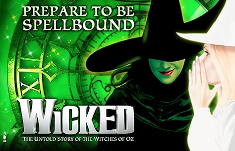 Wicked at the Apollo Victoria Theatre & Dinner at Jamie's Italian - Victoria Tickets