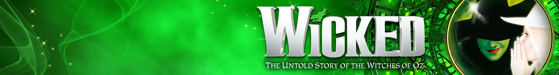 Wicked at the Apollo Victoria Theatre & Dinner at Pizza Express banner image
