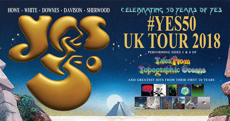 YES: 50th Anniversary tickets