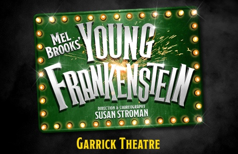Young Frankenstein at Garrick Theatre, London