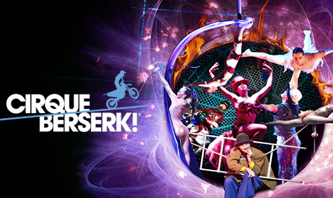 Coming Soon: The West End Return of Cirque Berserk!