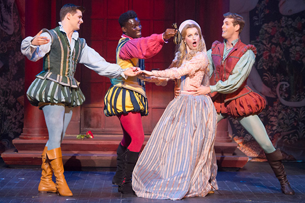 Casting announcement for Opera North's new Kiss Me, Kate tour