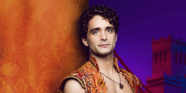 Q&A with Aladdin star Matt Croke