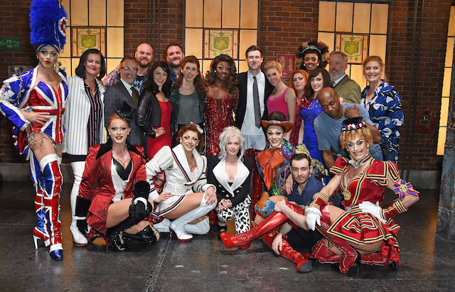Cyndi Lauper's hit musical Kinky Boots has announced its support for Heads Together