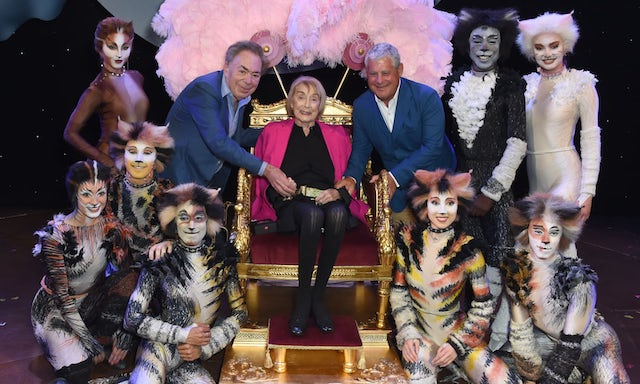 New London Theatre officially renamed after choreographer of Cats, Dame Gillian Lynne