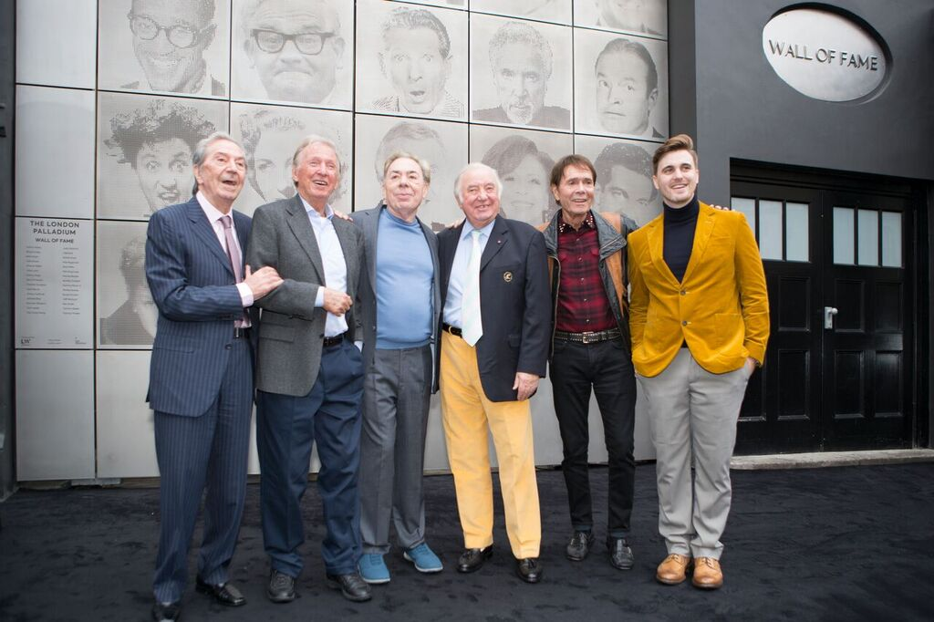 New London Palladium Wall of Fame unveiled