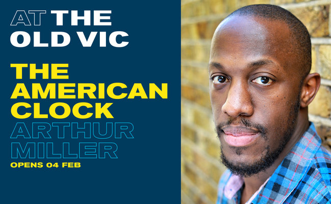 Hamilton star Giles Terera to join cast of The American Clock at the Old Vic Theatre