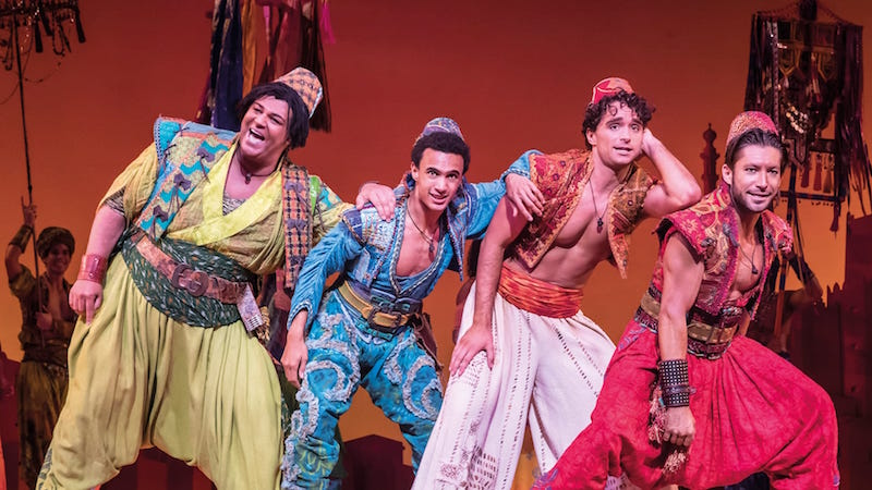 London Theatre Review: Aladdin at Prince Edward Theatre