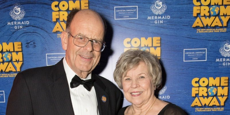 Real-life couple Nick and Diane Marson, who inspired the hit Broadway musical, Come From Away, to appear on The One Show tonight
