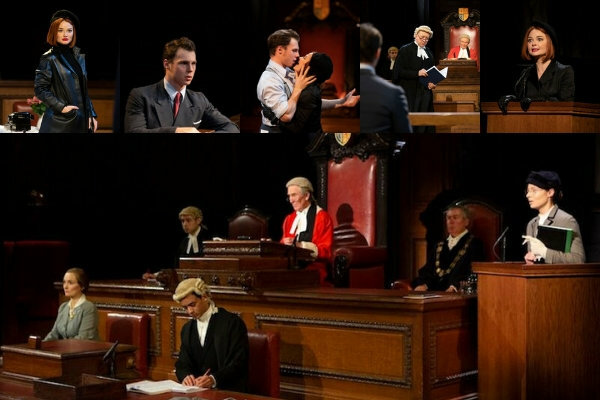 Extension and new casting announced for Witness for the Prosecution at London's County Hall on Southbank