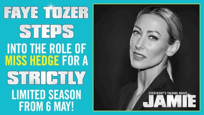 Steps pop singer Faye Tozer cast as Miss Hedge in hit musical Everybody's Talking About Jamie