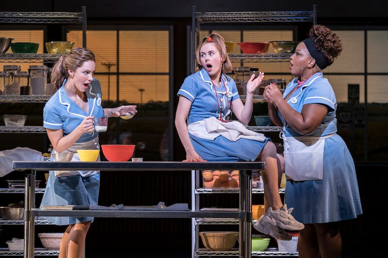 London Theatre Review: Waitress starring Katharine McPhee at the Adelphi Theatre