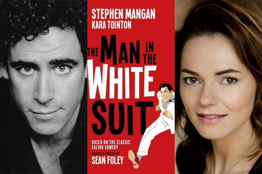 Kara Tointon and Stephen Mangan to star in West End premiere of The Man in the White Suit