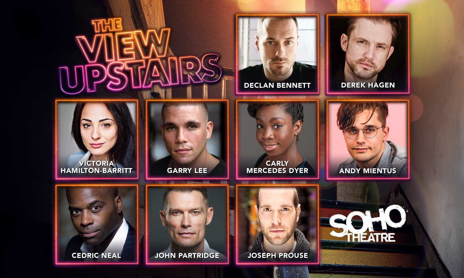 Casting announced for the European premiere of The View UpStairs at the Soho Theatre