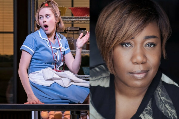 Next Waitress cast album karaoke night to be hosted by Laura Baldwin and Chizzy Akudolu on Wednesday, 8 May