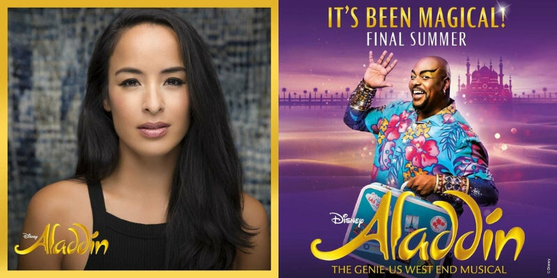 Original Broadway's Jasmine Courtney Reed has joined West End Aladdin cast