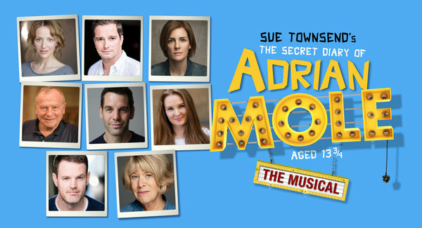 Casting announced for the Ambassadors Theatre production of The Secret Diary of Adrian Mole aged 13¾ – The Musical