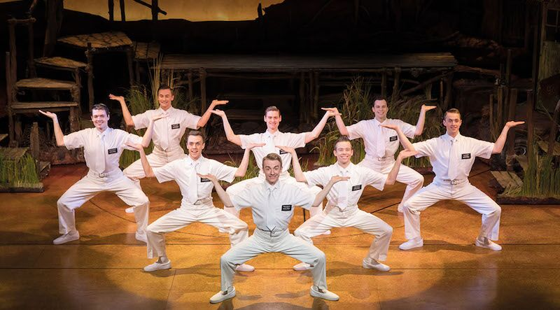 Where is the best place to sit for The Book of Mormon musical in London?