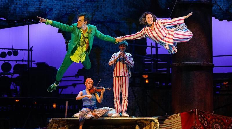 J M Barrie's Peter Pan to open at Troubadour White City Theatre, in July