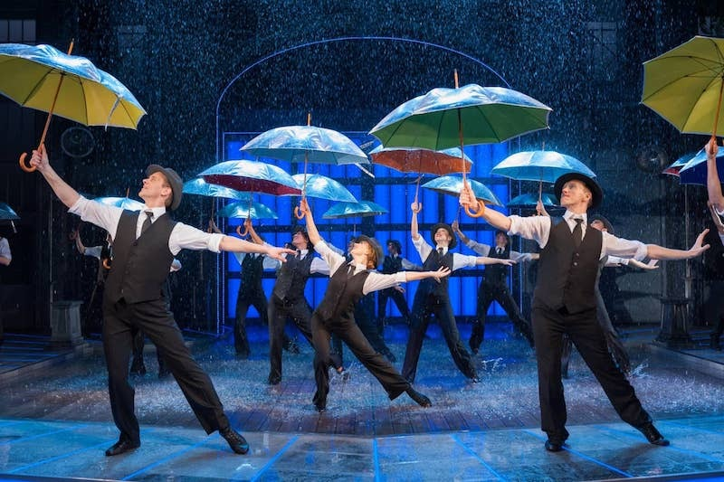 Singin' in the Rain returns to the West End for a five-week run at Sadler's Wells in summer 2020