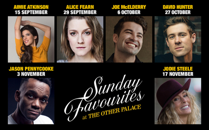 Sunday Favourites at The Other Palace returns!