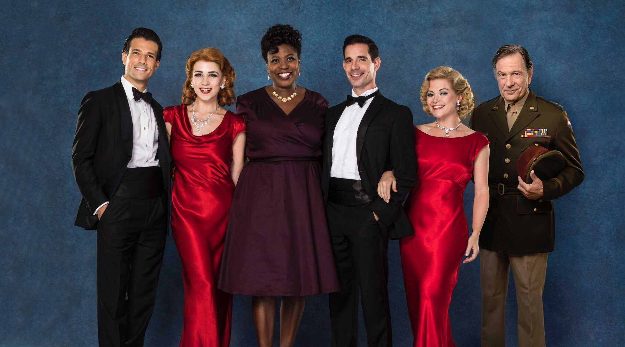Full West End cast announced for White Christmas at the Dominion Theatre