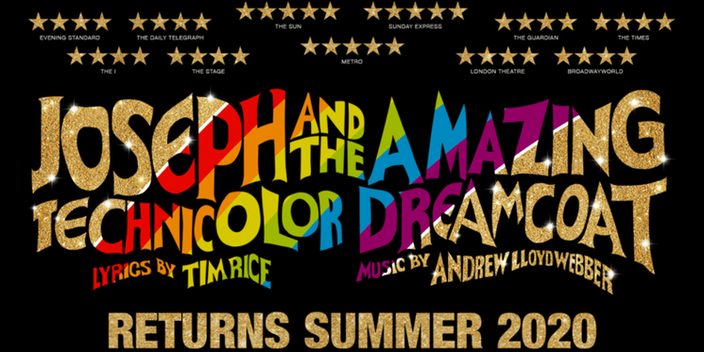Joseph and the Amazing Technicolor Dreamcoat to return in summer 2020
