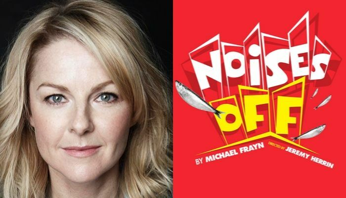 Q&A with Sarah Hadland from Noises Off at London's Garrick Theatre