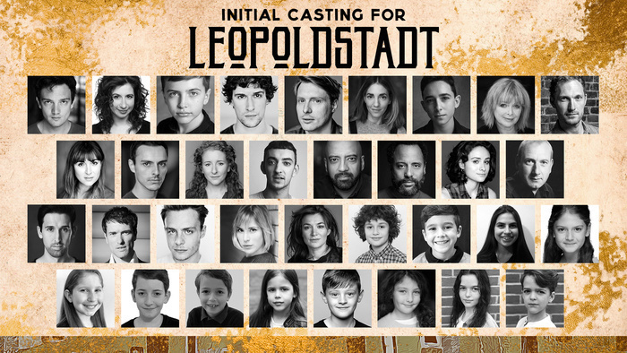 Cast and creatives announced for Leopoldstadt at Wyndham's Theatre